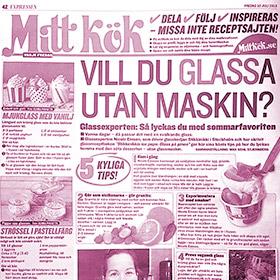 Mitt Kök - Make ice cream without a machine - StikkiNikki