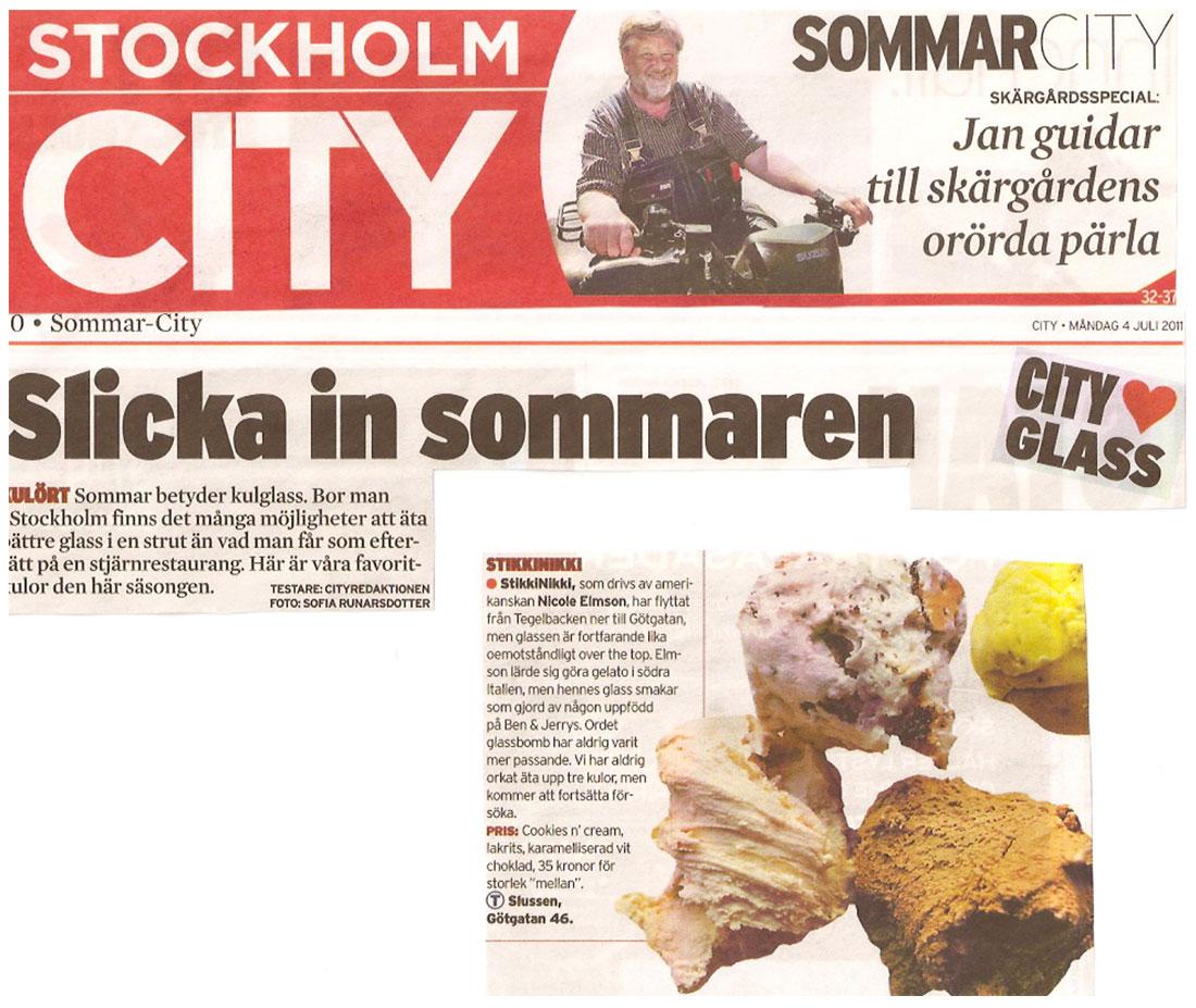 Stockholm City - Slicka in sommaren - StikkiNikki