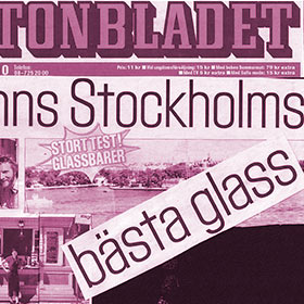 Aftonbladet - Bäst i test glass - StikkiNikki