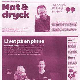DN - Stockholms glassdrottning - Nicole Emson - StikkiNikki