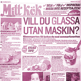 Mitt Kök - Gör glass utan glassmaskin - StikkiNikki