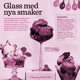 Trend - Ice cream with new flavors - StikkiNikki